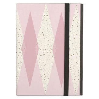Het Moderne Roze iPad Hoesje Argyle van het midden