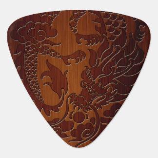Het modieuze Gegraveerde Tattoo van de Draak in Plectrum