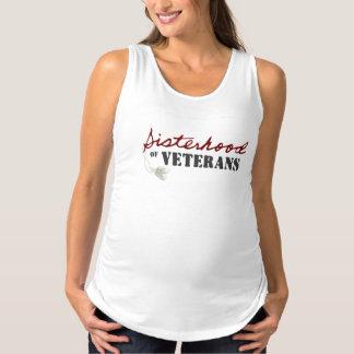 Het moederschapsmouwloos onderhemd van het tanktop