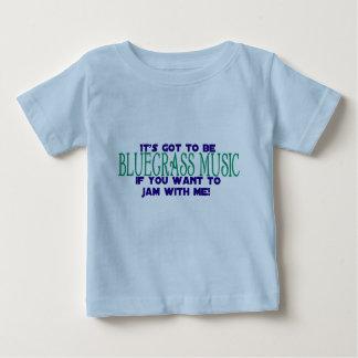 Het moet Bluegrass… Baby T Shirts