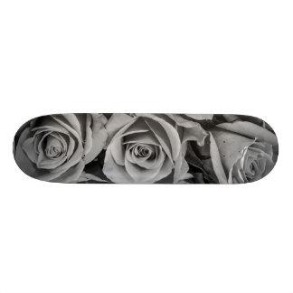 Het monochromatische Skateboard van Rozen