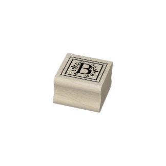 Het Monogram van de brief B Rubberstempel