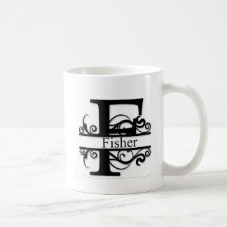 Het Monogram van de visser Koffiemok