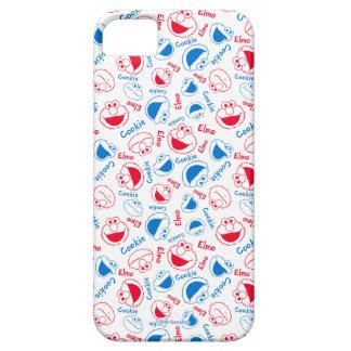 Het Monster & Elmo van het koekje | Rood & Blauw Barely There iPhone 5 Hoesje