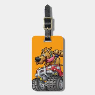 Het Monster Truck1 van Doo van Scooby Kofferlabel