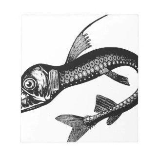 Het Monster van het zee Notitieblok