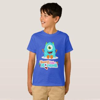 Het Monster van Little Boy van Mommys T Shirt