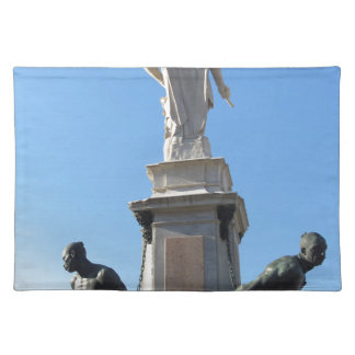 Het monument Quattro Mori (van Vier legt vast) Placemat