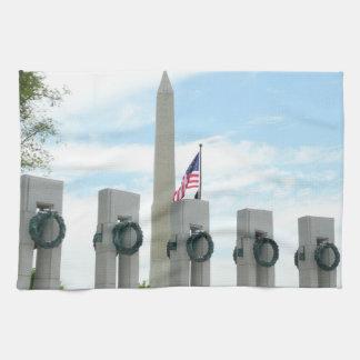 Het Monument van Washington en het Gedenkteken van Theedoek