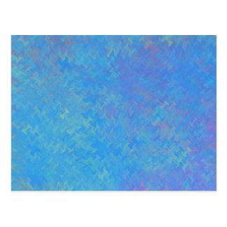 Het mooie Blauwe MarmerDocument ziet eruit Briefkaart