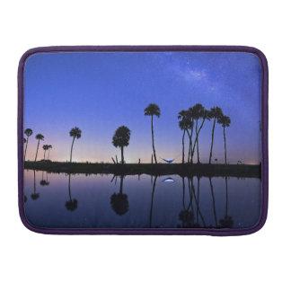 Het mooie eiland en van de bomenRiksja Sleeve van MacBook Pro Beschermhoes