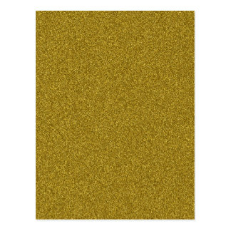 Het mooie fashinable girly gele goud schittert briefkaart