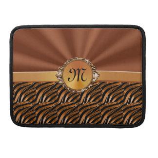 Het mooie Gepersonaliseerde & Met monogram Hoesje Sleeve Voor MacBooks
