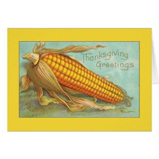 Het Mooie Graan van de Groeten van de Thanksgiving Briefkaarten 0