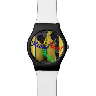 Het mooie Horloge van de Keus door Kunstenaar