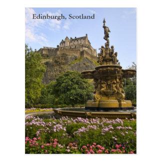 Het mooie Kasteel van Edinburgh Briefkaart