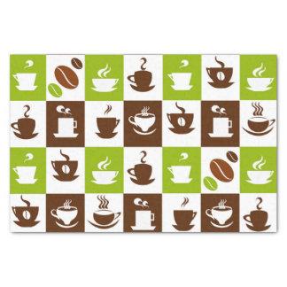 Het mooie Ontwerp van de Espresso van de Koffie Tissuepapier