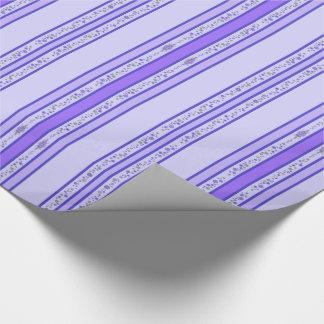Het mooie Paarse Belangrijkste voorwerp & de Inpakpapier