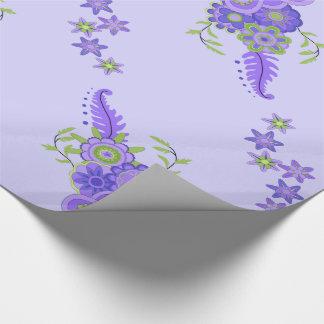 Het mooie Paarse Belangrijkste voorwerp van Inpakpapier