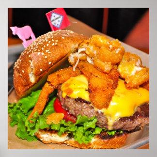 Het mooie Poster van de Cheeseburger