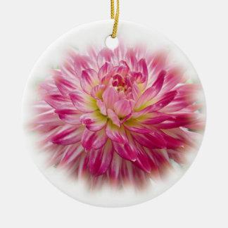 Het mooie Roze Ornament van Kerstmis van de Dahlia