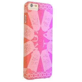 Het mooie Roze van het Baby Barely There iPhone 6 Plus Hoesje