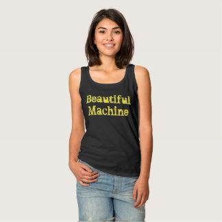 Het mooie Sleeveless T-shirt van de Machine