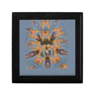 Het mooie verbazende Grappige Afrikaanse patroon Decoratiedoosje