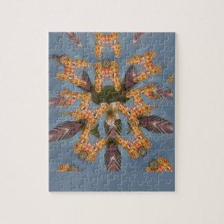 Het mooie verbazende Grappige Afrikaanse patroon Foto Puzzels