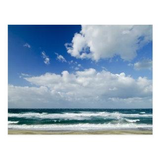 Het mooie zee in Sardinige Briefkaart