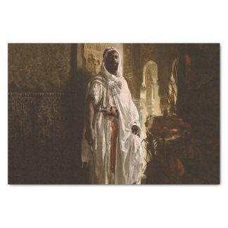 Het Moorse Belangrijkste Afrikaanse Portret Tissuepapier