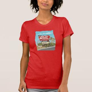 Het Motel van de heuveltop op Route 66 T Shirt