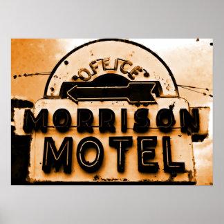 Het Motel van Morrison: Een hulde van Deuren Poster