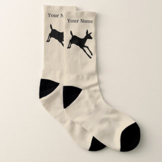 Het motief en de naam van herten sokken