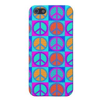 het motief IPhone 4 van het vredesteken iPhone 5 Cover