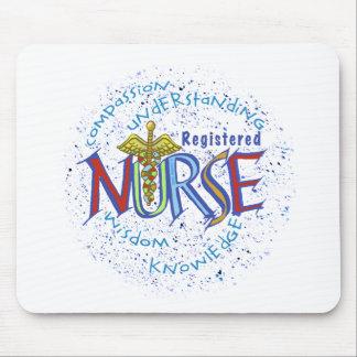 Het Motto van de gediplomeerd verpleger Muismat