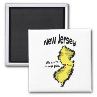 Het Motto ~ van New Jersey NJ de V.S. kunnen wij Magneet