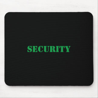 Het mousepad-Green van de veiligheid Doopvont Muismat