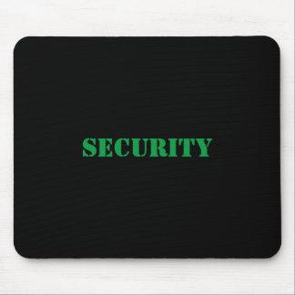 Het mousepad-Green van de veiligheid Doopvont Muismatten