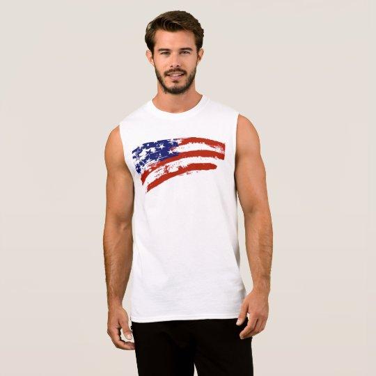 Het Mouwloos onderhemd van de Kunst van de Vlag T Shirt