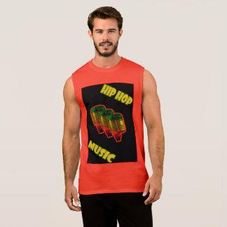 Het Mouwloos onderhemd van de Muziek van Hip Hop T Shirt