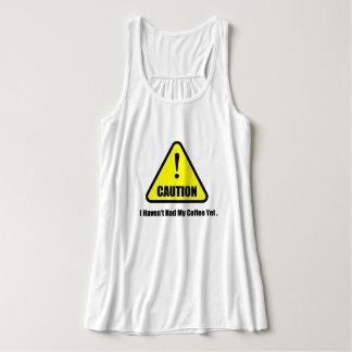 Het mouwloos onderhemd van de voorzichtigheid tanktop
