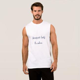 Het Mouwloos onderhemd van het Man van Intrépide T Shirt