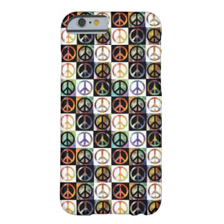 Het Mozaïek van het Teken van de vrede Barely There iPhone 6 Hoesje