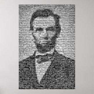 Het Mozaïek van Lincoln Poster