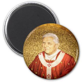 Het mozaïekMagneet van Benedictus XVI van de paus Magneet