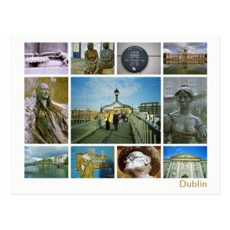 Het multi-afbeelding van Dublin Briefkaart