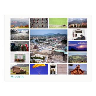 Het multi-afbeelding van Oostenrijk Briefkaart