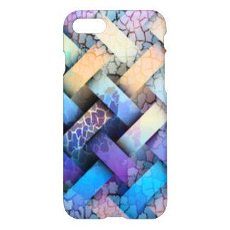 Het multi Gekleurde Ontwerp van het Weefsel van de iPhone 8/7 Hoesje