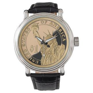 Het Muntstuk van de vrijheid Horloge